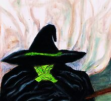 WIZARD OF OZ, MELTING WICKED WITCH by JoAnnHayden