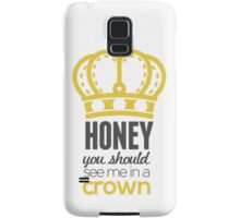You Should See Me In A Crown - Moriarty Sherlock Samsung Galaxy Case/Skin