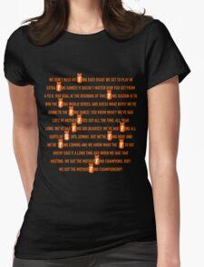 Pence Speech Womens Fitted T-Shirt
