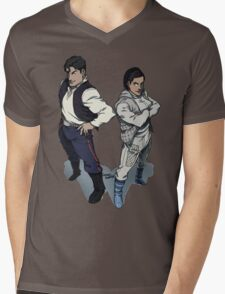 Star Wars excitement in the DCU Mens V-Neck T-Shirt