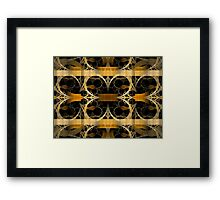 Splits-Crop Gold Framed Print