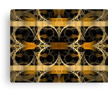 Splits-Crop Gold Canvas Print