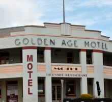 0195 Golden Age Motel, Omeo Sticker