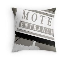 Motel Private Throw Pillow