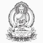 BUDDHA ONYX BLACK by Create or Die Designs