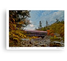 Autumn Crossing Canvas Print