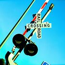 Railroad Crossing by Charlie Rivero