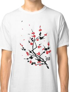 CHERRY BLOSSOMS RED Classic T-Shirt