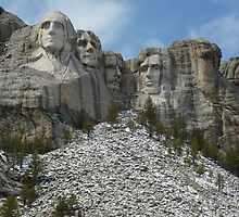 Mount Rushmore by Jennie Whiting
