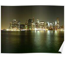 Downtown Manhattan Poster