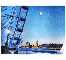 A London Christmas Poster