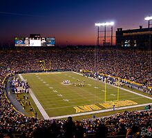 Lambeau at Sunset by ChadLarsonPhoto