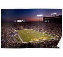 Lambeau at Sunset Poster