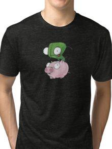 Gir and Piggy Tri-blend T-Shirt