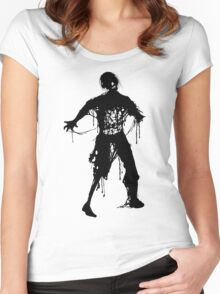 Decaying Zombie Women's Fitted Scoop T-Shirt