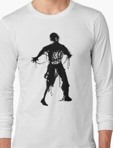 Decaying Zombie Long Sleeve T-Shirt