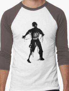 Decaying Zombie Men's Baseball ¾ T-Shirt