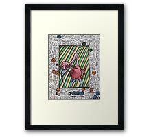 Goofy Bird Framed Print