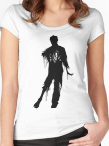 Decaying Zombie 2 Women's Fitted Scoop T-Shirt