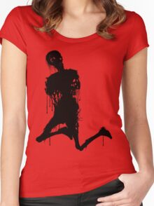 Decaying Zombie 3 Women's Fitted Scoop T-Shirt