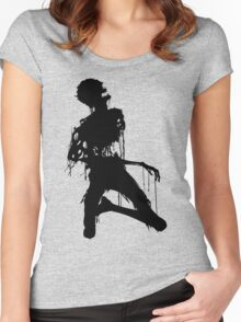 Decaying Zombie 4 Women's Fitted Scoop T-Shirt