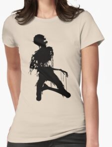 Decaying Zombie 4 Womens Fitted T-Shirt