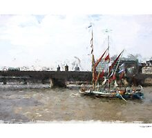 Thames Barges by Lightrace