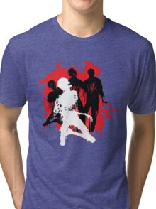 Decaying Zombies Tri-blend T-Shirt