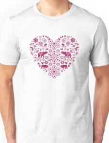 folk heart Unisex T-Shirt