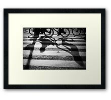 'Shadows' Framed Print