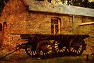 Bon Accord Cottage and Cart at Burra by Wendi Donaldson Laird