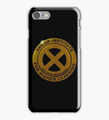 XAVIER INSTITUTE OF HIGHER LEARNING iPhone Case/Skin