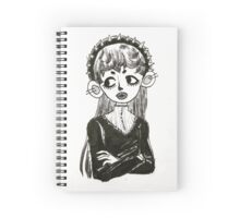 Spooky Girl Spiral Notebook