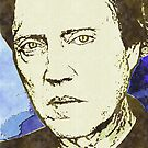 CHRISTOPHER WALKEN by OTIS PORRITT