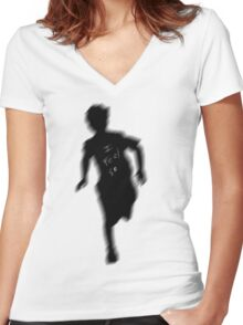 Boxcar Racer  Women's Fitted V-Neck T-Shirt