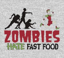 Zombies Hate Fast Food Kids Clothes
