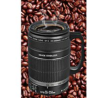 ✿◕‿◕✿  ❀◕‿◕❀ TELESCOPIC LENSE CUP OF COFFEE  ✿◕‿◕✿  ❀◕‿◕❀ Photographic Print