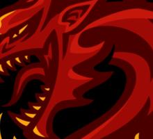 Go Dragons! - STICKER Sticker