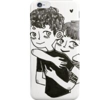 Lovers 'til Death iPhone Case/Skin