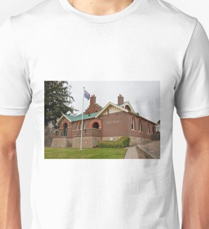 0195 Omeo Court House Unisex T-Shirt