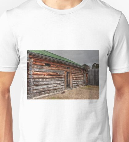 0842 Old Log Jail, Omeo Unisex T-Shirt