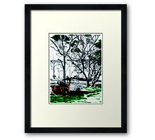 A Piece Of Time Forgotten Framed Print