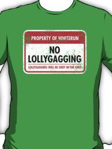 Whiterun Municipal Ordinance T-Shirt