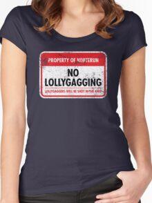 Whiterun Municipal Ordinance Women's Fitted Scoop T-Shirt