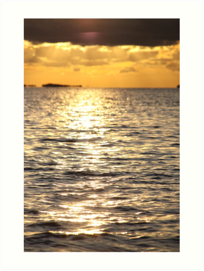 Sunset near Lysekil by Jeanne Horak-Druiff