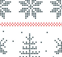 nordic Xmas pattern Sticker
