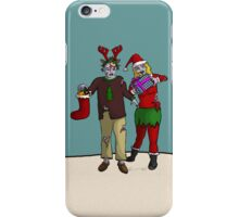 Xmas Zombies iPhone Case/Skin