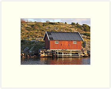 South Koster boathouse by Jeanne Horak-Druiff