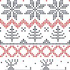 Nordic Xmas pattern by Anastasiia Kucherenko