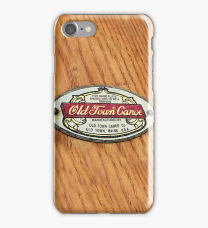 Old Town Canoe iPhone Case/Skin